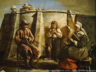 Le joueur de flageolet - Mathieu Le Nain (vers 1645)